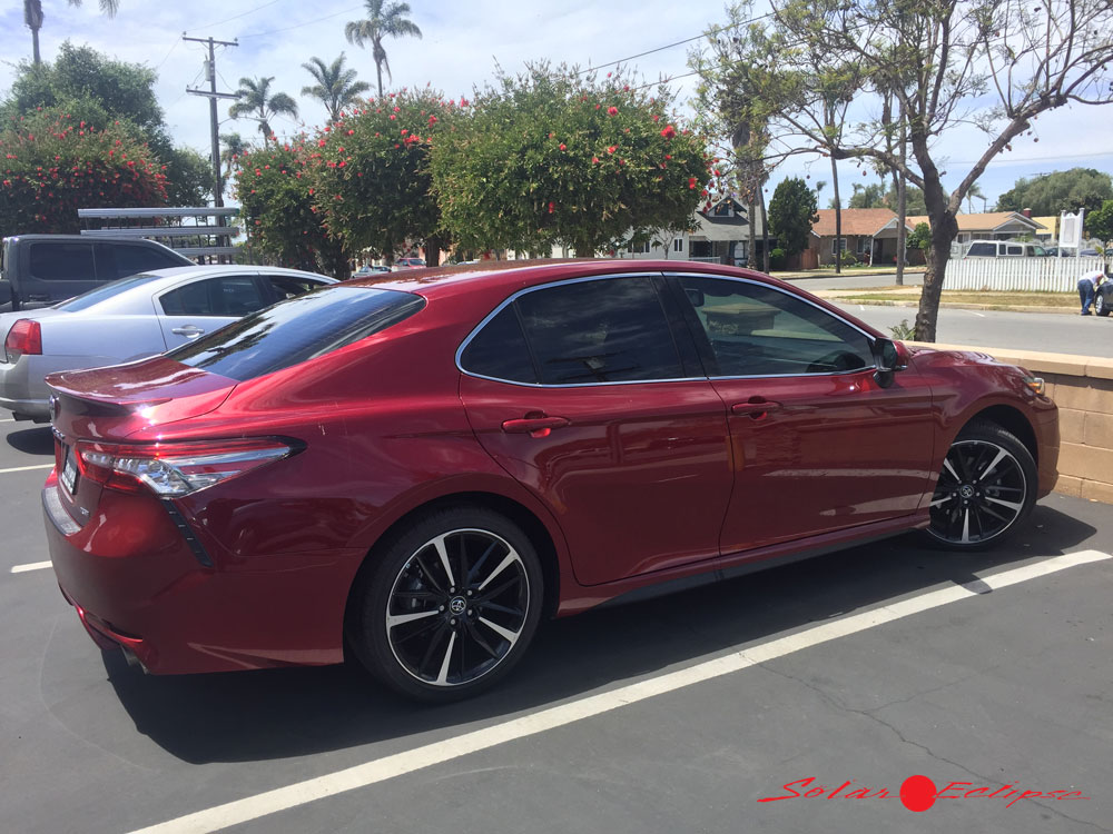 2019 Toyota Camry Tinted Windows Toyota Cars Review